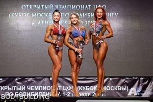 Спортсменка из Владивостока победила на Кубке Москвы по бодибилдингу
