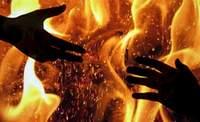 Женщину с двумя детьми спасли из огня приморские пожарные