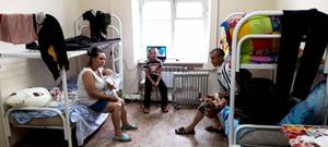 В пунктах временного размещения Уссурийска продолжают принимают пострадавших