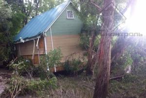 В Уссурийске обнаружили унесенный тайфуном дом