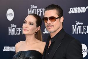 Анджелина Джоли сбежала от Брэда Питта и бросила детей