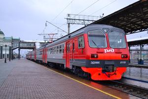 Две вечерние электрички отменят в Приморье 31 декабря