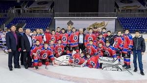 Приморские хоккеисты привезли «Золотую шайбу» из Перми.