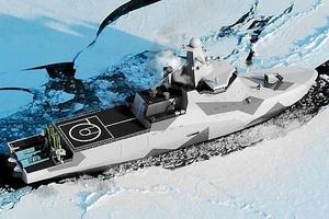 Россия начинает строительство первого в мире боевого ледокола