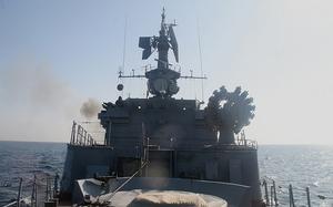 Корабли ТОФ отразили удары противника