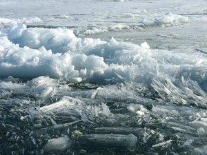 Процесс разрушения льда в бухтах Приморья начался раньше обычного