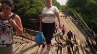 Жители сел Красноармейского района вынуждены ходить по рухнувшему мосту за продуктами