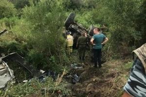 Страшное ДТП в Приморье с участием Урала с солдатами и иномарки унесло жизнь троих человек