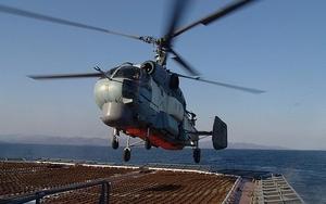 Приморские вертолетчики отработали ракетные удары