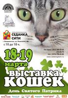 Выставка кошек «День святого Патрика»