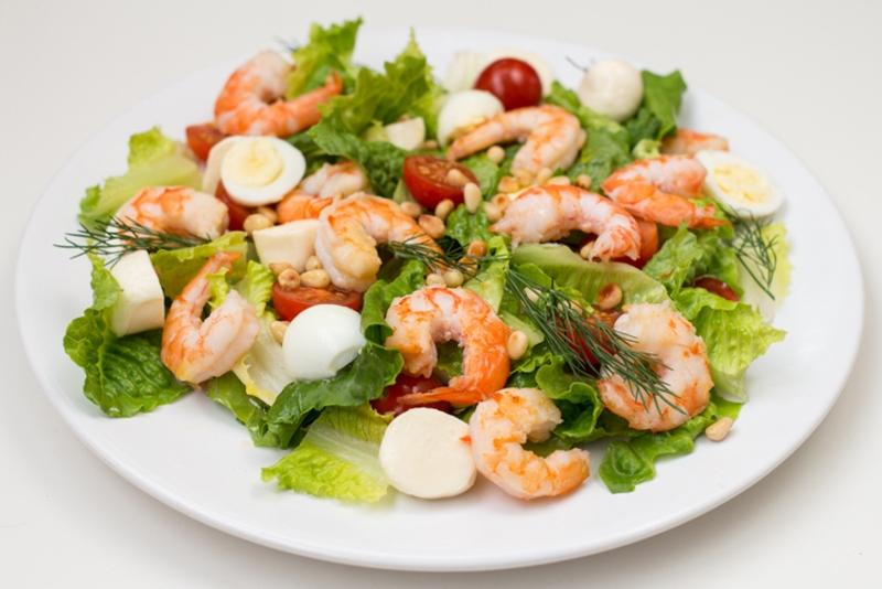 Салат из креветки рецепт очень вкусный
