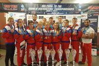 Российские кикбоксеры триумфально выступили на первенстве мира в Италии